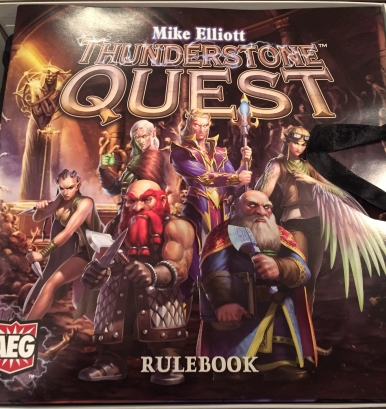 Rulebook for Thunderstone Quest