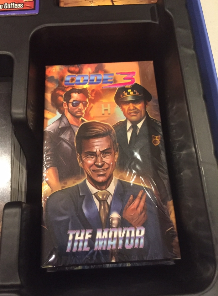The Mayor Expansion! A new 80s cop story!