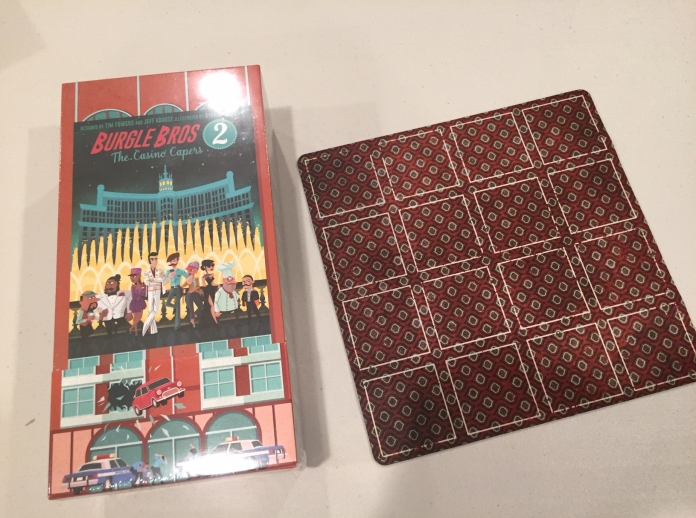 The Kickstarter version of Burgle Bros 2 came with an extra mat